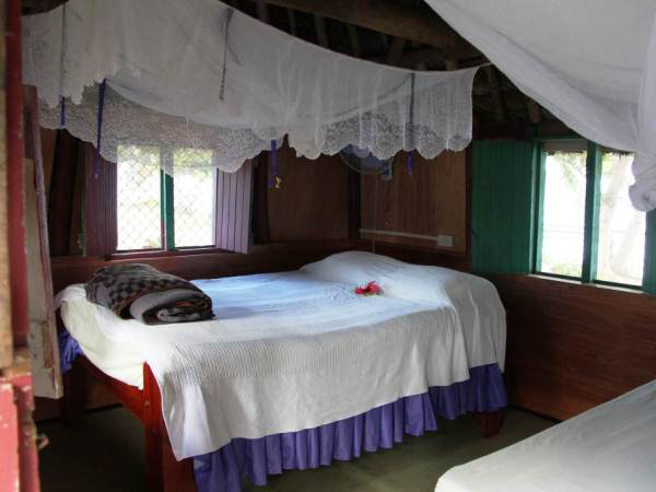 nabua lodge inside traditional bure