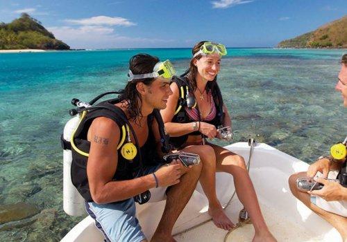 Tauchen auf Fiji
